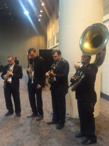 Jazz Brunch Quartet with Clarinet, Trumpet, Banjo and Sousaphone