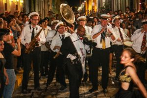 New Orleans Spice Brass Band International Jazz Festival Performance